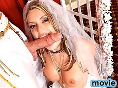 Courtney Cummz gets married and fucks the priest